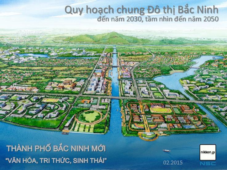 Quy hoạch chung đô thị Bắc Ninh